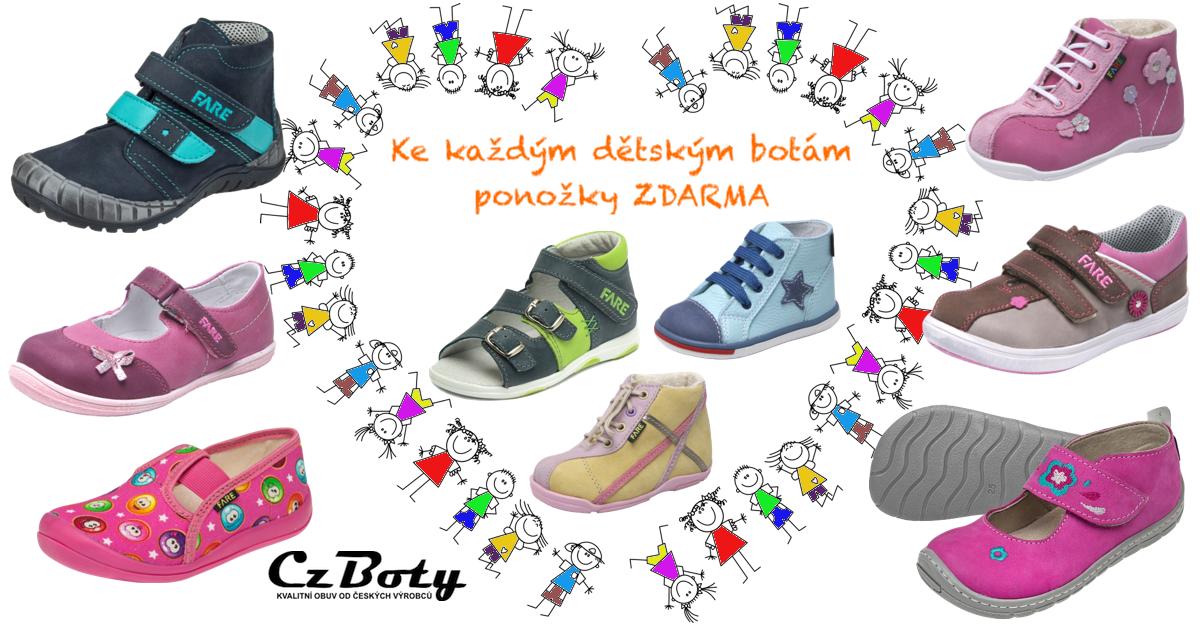 0cdc79430 Dětská česká obuv | 135