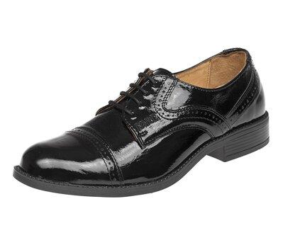 9e1fcc6a71d Pánské společenské boty Business Black Shine